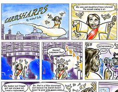 "Check out new work on my @Behance portfolio: """"Cardsharps"" Comic Strips"" http://be.net/gallery/31679091/Cardsharps-Comic-Strips"