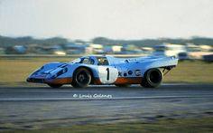 Here's the incredible Porsche 917 Jo Siffert & Derek Bell at Daytona 1971