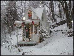 Little Christmas cottage