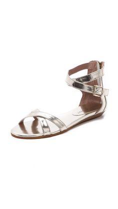 Will wear to death!    Rebecca Minkoff Bettina Flat Sandals