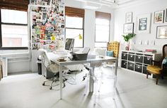 Inside the office of Erin Gates, interior designer and blogger behind Elements of Style