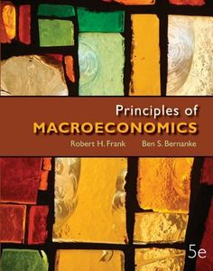 Looseleaf Principles of Macroeconomics + Connect Plus by Robert Frank. $151.55. Publisher: McGraw-Hill/Irwin; 5 edition (November 14, 2011)
