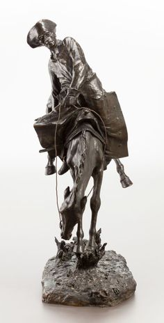 Frederick Remington's The Outlaw No. 5 Sculpture Could Fetch $ ...