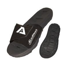 378ffb47aba34d Akadema AKDSLIDEBLK09 Slide Women s Sport Sandals and Slides Black 1415 --  Be sure to check
