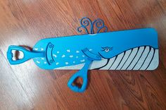 I just finished making this Blue Whale! Made out of one ceiling fan blade &…