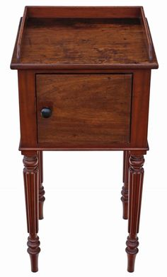 Mahogany bedside table - The Hoarde Black Furniture, Colorful Furniture, Home Furniture, Cozy Teen Bedroom, Bedroom Ideas, Master Bedroom, Teenage Room, Colourful Cushions, Wooden Chest