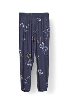 Akina Crepe Pants, Iris Orchid