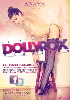Dollyrox Magazine Launch! #tattoo #glamour #girls #friday