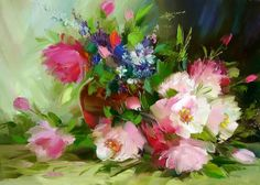 Alexander Sergeev,1968 ~ Still life painter