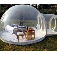 Lowest price inflatable bubble tent with free CE/UL blower - Family Camping, Tent Camping, Outdoor Camping, Glamping, Mobile Architecture, Bubble Tent, Unusual Buildings, Dome Tent, Outdoor Furniture