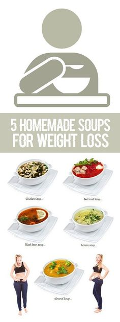 5 Homemade Soups To Help You Lose Weight..
