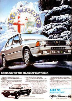 Retro Motoring : Classic car enthusiasm and gift ideas Retro and classic Alfa Romeo items for sale Alfa Romeo Logo, Alfa Romeo Cars, Classic Motors, Classic Cars, Classic Mercedes, Car Advertising, Unique Cars, Car Images, Us Cars