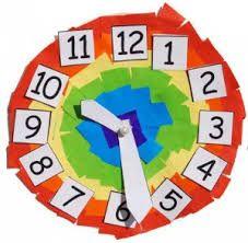 Resultado de imagen para reloj analogo para niños