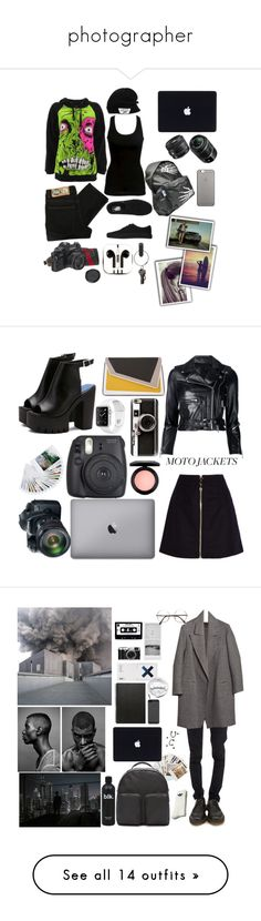 """""""photographer"""" by demetric-brown ❤ liked on Polyvore featuring Iron Fist, Cheap Monday, Vans, American Eagle Outfitters, PhunkeeTree, PA Design, Native Union, Surfer Girl, R13 and Acne Studios"""