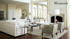 Miramont Living Room Items | Bernhardt
