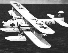 Heinkel He 59 floatplane.
