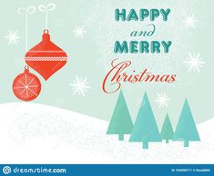 Design On A Christmas Theme For A Poster Or Postcard. Stock Vector - Illustration of snow, congratulation: 164058711 Christmas Themes, Winter Collection, Congratulations, Merry, Illustration, Poster, Design, Illustrations, Design Comics