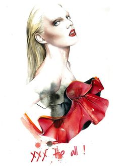 Antonio Soares Fashion Illustrations
