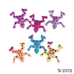 Sticky Stretchy Frogs, Putty & Squishy Toys, Novelty Toys, Toys, Games & Novelties - Oriental Trading