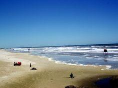 Temporada de verão na Praia Grande.