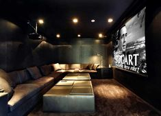 Basement Remodel: Home Theater Designs | Perfect Place, Basements And Movie  Rooms