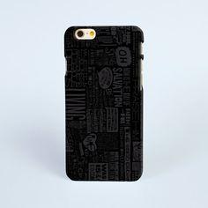iPhone 7 Case Black Art print, iPhone 7 plus Case, iPhone 6 Plus Case, iPhone 6 Case, iPhone 6s Case, iPhone 5s Case, 3D iPhone Cases