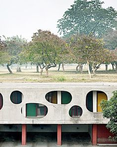 Capturing Le Corbusier's decaying architectural playground...