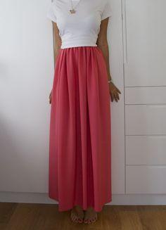 Make a maxi skirt!