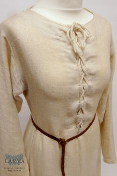 Late Medieval Linen Undergarment with Lacing