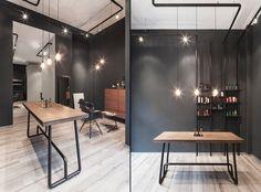Bailas Contemporary Coiffure hair salon by Betty und Betty, Düsseldorf – Germany » Retail Design Blog