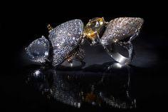 ANEL | Prata e ouro, cristal rocha/citrino com zircónias. RING |  Silver and 9kts gold, rock cristal/citrin and zirconia. AN0405  #MarcoCruzJoalheiro #Jewelry #Joias #Classic #Portugal #Silver #Jewels