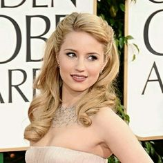 Dianna Agron with 50's hair for wedding - This could work for me. And it would make tiara placement somewhat easier.