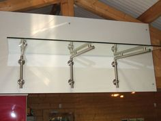 Stainless Steel Glass Door Canopy - L BRACKET (BRACKETS ONLY) | eBay | Tattoos | Pinterest | Door canopy Glass doors and Steel doors & Stainless Steel Glass Door Canopy - L BRACKET (BRACKETS ONLY ...