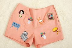 Matisse fine art embroidered suits pink pants by casaoriental