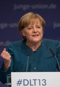 "Merkel in Erfurt: ""Denn wir wollen regieren."""