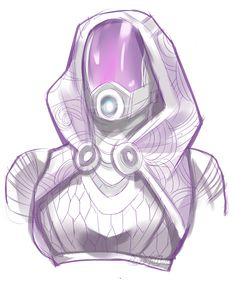 "Tali'Zorah from Mass Effect - ""derptyme"" on Tumblr"