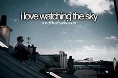 Lazy days of just laying on our trampoline looking at clouds in daytime and stars at night