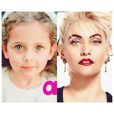 Paris Jackson Then and Now