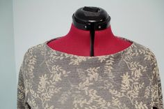 Diana's Sewing Lessons: Burda 6998...Adding neck facing and Narrow Shoulder Adjustment