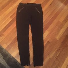 Road to awe R+A designer pants/leggings sold out Used small stretch by the zipper as shown in the picture when you wear them they stretch not even noticeable other than that good condition these were $ 325 sold out Road to Awe Pants Skinny