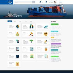 Design a transportation sharepoint intranet homepage (simple and attractive) Sharepoint Design, Sharepoint Intranet, Intranet Design, Site Design, Logo Design, Enterprise Portal, Portal Design, Creative Web Design, Apps