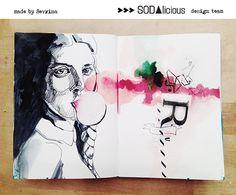 SODAlicious art journal Sevrina