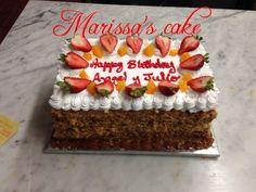 Pastel de mil hojas (torta tipica Peruana ) con rreleno de manjar blanco .visit us Facebook.com/marissa'scake or www.elmanjarpuano.com