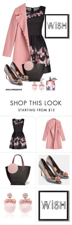 """""""#PolyPresents: Wish List"""" by shamrockclover ❤ liked on Polyvore featuring Roksanda, Ted Baker, Ranjana Khan, PBteen, Lancôme, contestentry and polyPresents"""