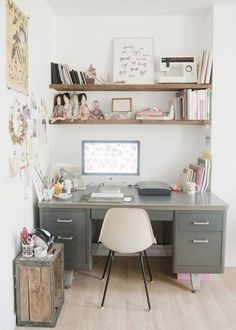 Gorgeous home office  | home office | | home decor | #homeoffice #design #moderndesign https://biopop.com/