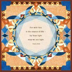 Illuminated Psalm 36:10