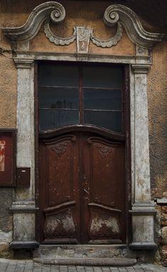 Old door, Tartu, Estonia