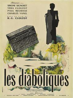 Diabolique (Henri-Georges Clouzot, 1955) French design by Raymond Gid