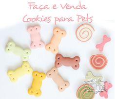 Faça & Venda Cookies para Pets e fature!! Na Cozinha do Quintal Homemade Dog Treats, Pet Treats, West Terrier, Pet Style, Cookie Packaging, Pet News, Dog Eating, Love Pet, Diy Stuffed Animals