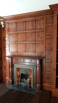 Timber Wall Panels, Timber Walls, Oak Panels, Wood Panel Walls, Wood Paneling, Fireplace Surrounds, Fireplace Mantels, Fireplaces, Joinery Details